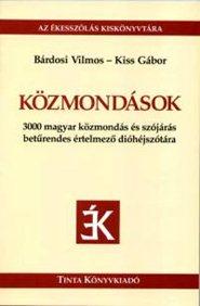 Kiss Gábor-Közmondások