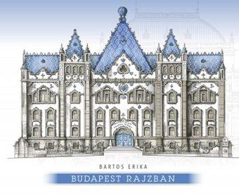 Bartos Erika-Budapest rajzban