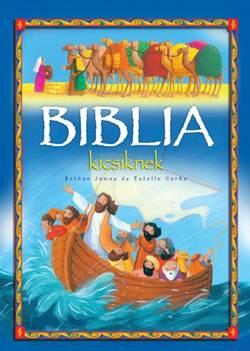 Bethan James-Biblia kicsiknek