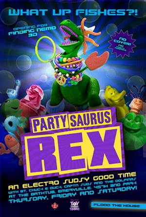 Toy Story Toons-Partysaurus Rex