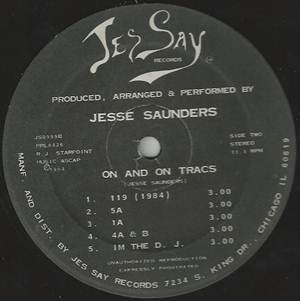 Jesse Saunders-On and On