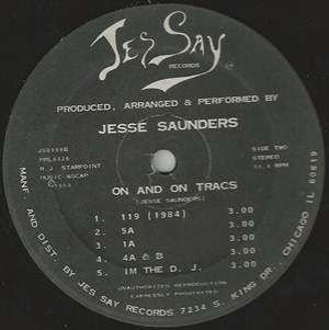 Jesse Saunders-On and On